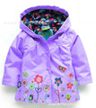 5 color 2015 Girl's Fashion Outerwear & Coats blazer Trench Spring Autumn Girls Hoodies Jackets Baby rain coat Children's Coat
