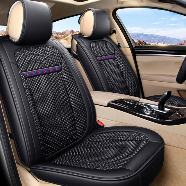 Front Rear Car Seat Covers Seats Cushion Auto Accessories For Fiat