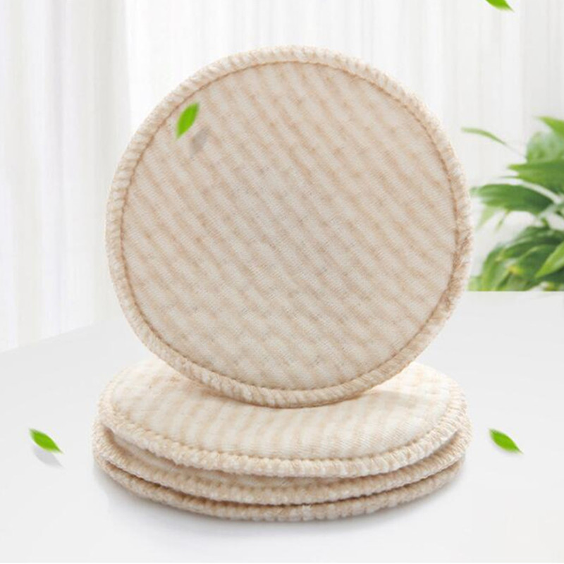 1PC/2Pcs Mommy Feeding Washable Reusable Breast Nursing Pads Cotton Soft Comfortable Absorbent Baby Breastfeeding Breast Pads