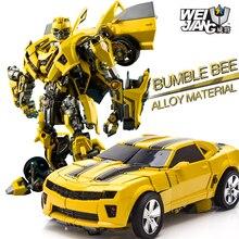 Weijiang   MPM03 Alloy deformed toy king 5 hornet bug boy robot Transformation toys Movie 5 Robot Car Toys Anime Gift weijiang model tf wei jiang transformation robot metal optimus alloy
