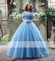 Реальные Фото Мечтательный Золушка Платье Принцессы Бальное платье Замечательное Люкс Тюль Свадебные Платья Платья Дешевые Высокого Качества
