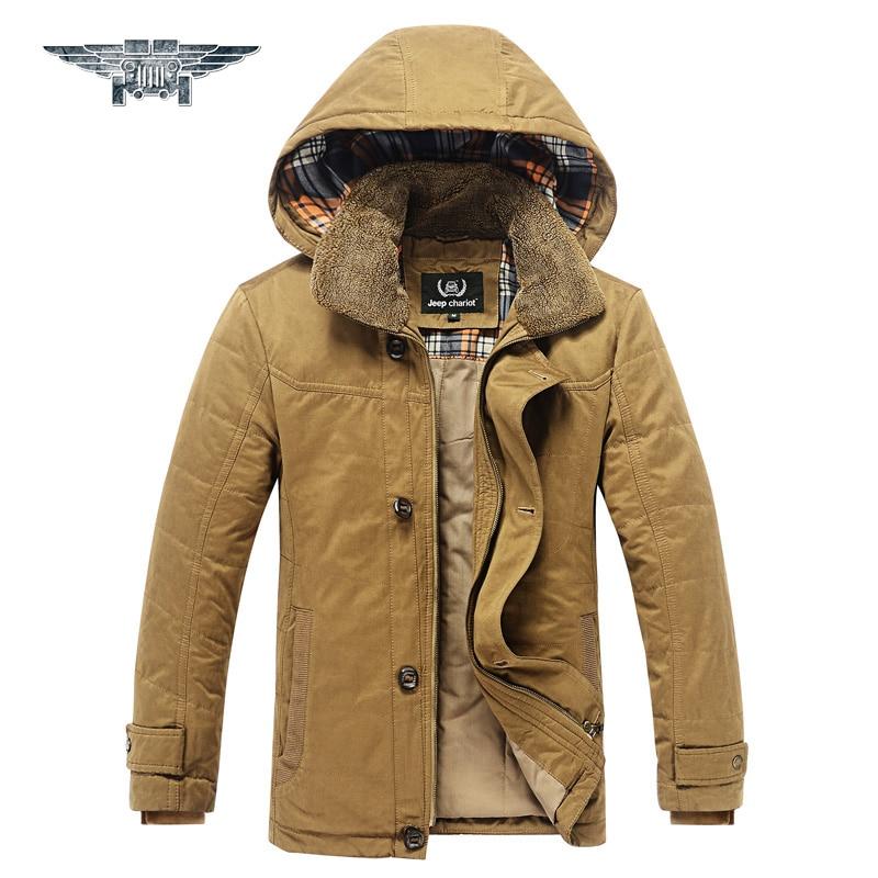 2016 High Quality Thickening Winter Coat Cotton-Padded Jacket Men Warm Parkas Plus Size 3XL #jpzc8536