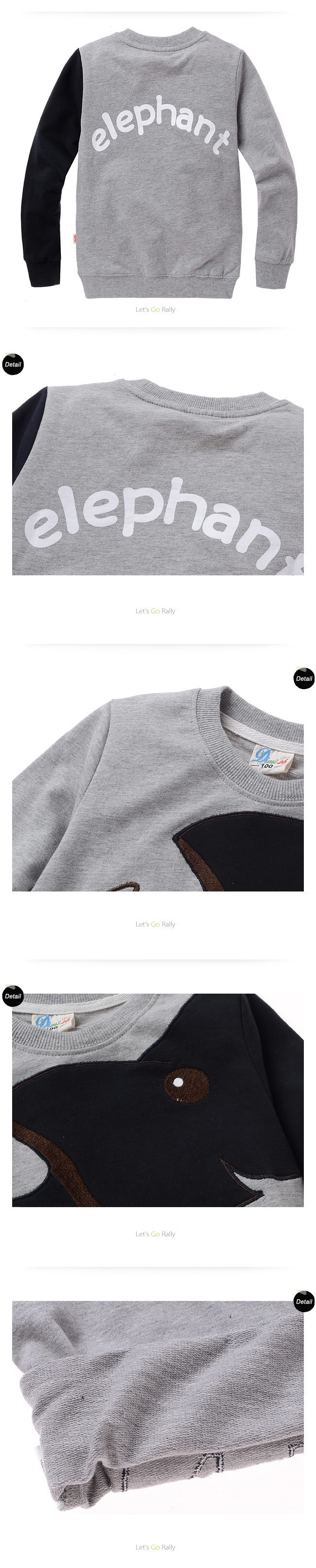 Boys And Girls Autumn Winter Kids Elephant Cartoon Long Sleeved T H16 2504 Ps24w Adapter For Fog Lights Drl Relay Wiring Harness Ebay Click Here Shirt Cotton Sweater Four Colour Children Clothes