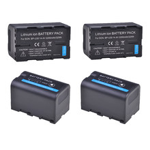 4 pc BP-U30 BPU30 BP U30 Li-ion Batterie Pour Sony BP U30 U60 U90 XDCAM EX PMW 100 150 160 200 PMW EX1 EX3 F3 F3K PMW-F3L Caméra