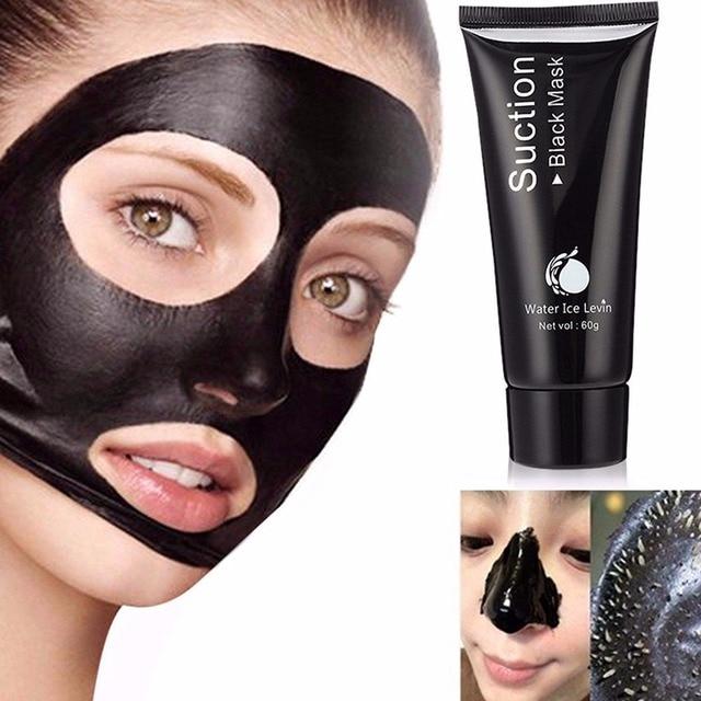 Carvão de bambu Máscara Preta Rosto Cuidados de Limpeza Profunda Purificação 3 Passos de Cravo Acne Removedor de Cabeça Preta Máscara Do Nariz
