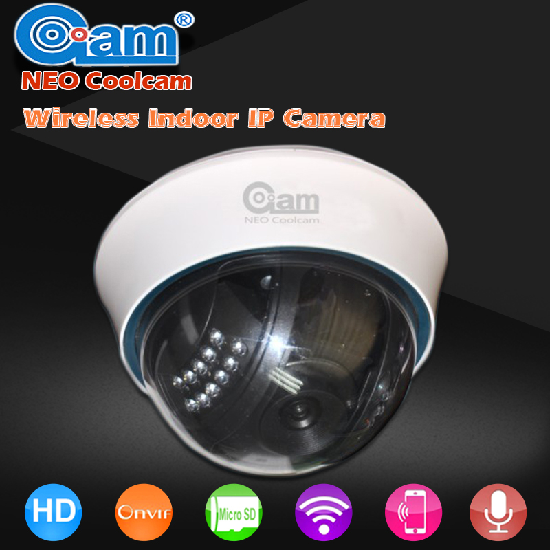 NEO COOLCAM NIP-12OAO WIifi IP Camera Wireless Dome P2P Security Network IP Camera With Night Vision And Motion Detection neo coolcam nip 02oao wireless ip camera network ir night vision cctv video security surveillance cam support iphone android