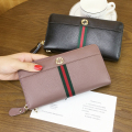 free shipping new fashion brand women's wallet purse ladies money pack 100% gunuine leather wholesale price in-kind shooting