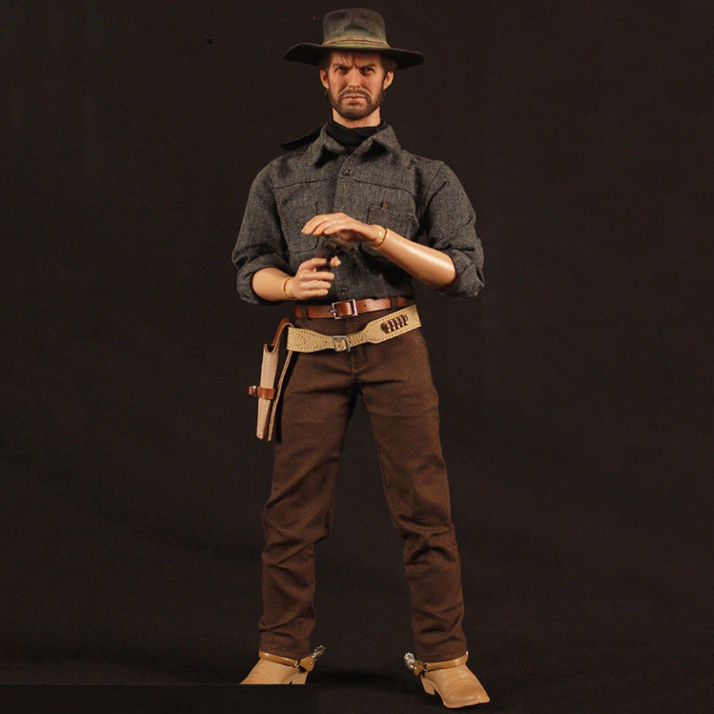 Full set action figure 1/6 RM020 The Cowboy Drifter Clint Eastwood Action Figure toy for collection 1