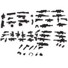 8 Style Swat Police Military Weapon Accessories Playmobil City Mini Figures Parts Original Blocks Mo