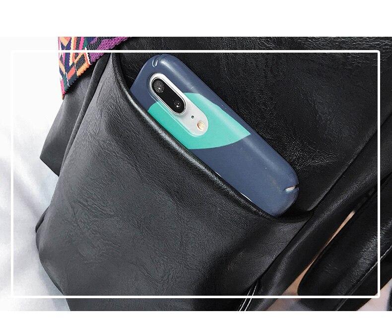 HTB1vmOmazzuK1RjSspeq6ziHVXa0 Retro Large Backpack Women PU Leather Rucksack Women's Knapsack Travel Backpacks Shoulder School Bags Mochila Back Pack XA96H
