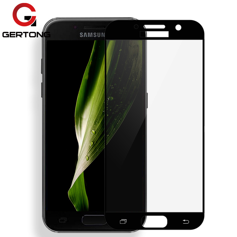 Mobile Phone Accessories Trustful Blue Color Tempered Glass Quality For Samsung Galaxy J730 J530 J330 J3 J7 J5 A520 A5 A3 A7 2017 Full Cover Screen Protector Film Phone Screen Protectors