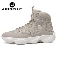купить New Hot Men Walking Shoes Outdoor Breathable Jogging Shoes Mountain Sport Boots Climbing Sneakers Zapatillas Deportivas Hombre дешево