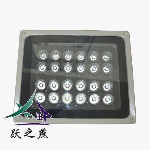 2015 nouvelle usine sortie chaude plaque d'immatriculation reconnaissance intelligente 30 W LED lumineuse lampes de remplissage photographiques parking privé lumières