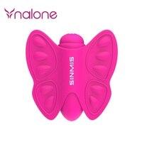 ピンクsilconeセックス製品20速度蝶ディルド振動バイブレーターストラップオン大人のおもちゃ女