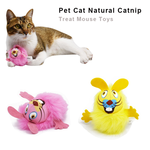 1 pz NEW Sveglio Mouse Interactive Fancy Animali Domestici Gatto Digrignare i de