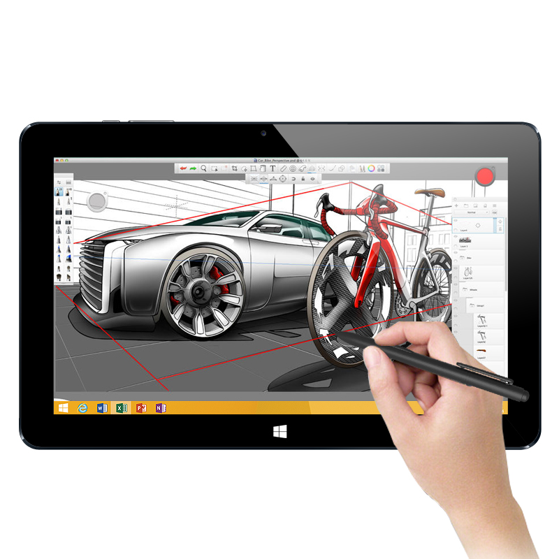 windows tablet with stylus