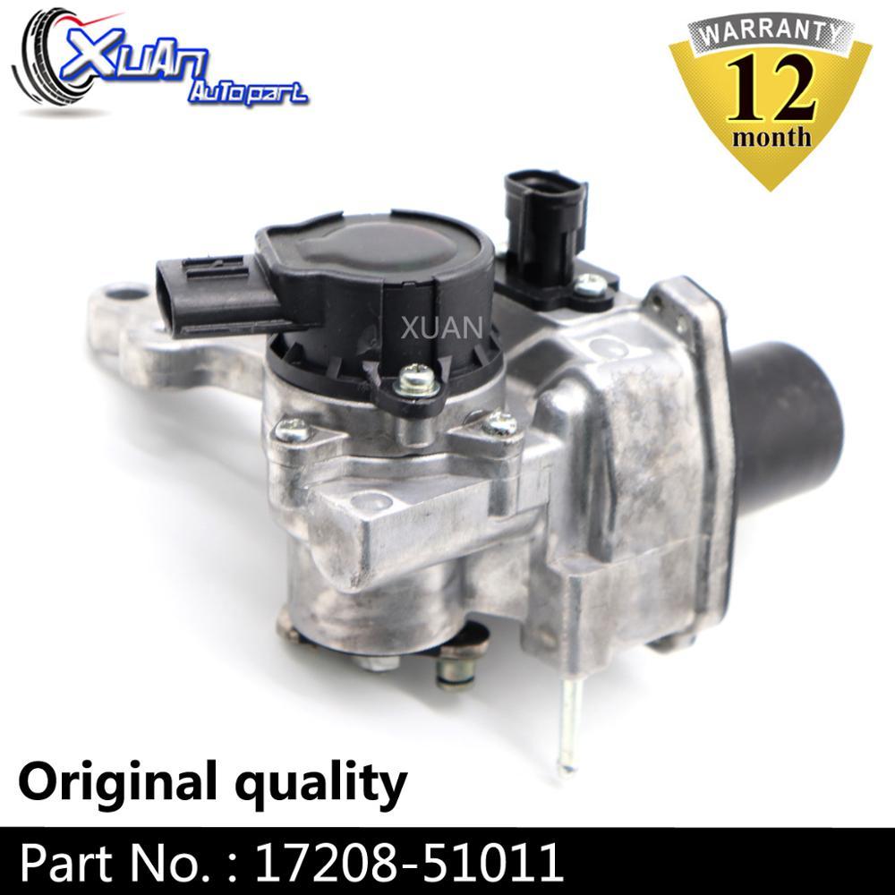 XUAN Turbo Wastegate Actuator RHV4 VB37 17208 51011 Turbo electronic charger For Toyota Landcruiser V8 D 195Kw 261HP 1VD FTV