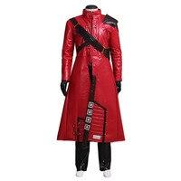 שומרי גלקסי פיטר נוצת כוכב-אדון Cosplay תלבושות למבוגרים תלבושות ליל כל הקדושים בגדי סט מלא Custom Made