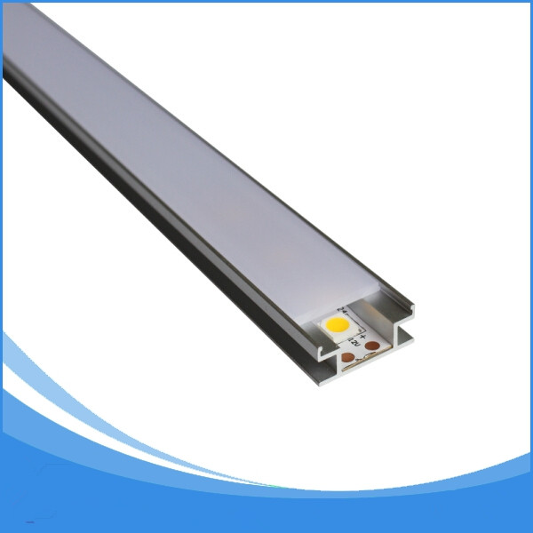 20 unids 1 m de longitud de aluminio llevó perfil de tira envío - Iluminación LED