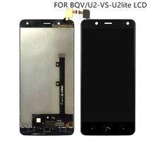 """Подходит для BQ Aquaris V дисплей с сенсорным экраном дигитайзер для BQ U2 U2 Lite ЖК экран аксессуары 5,2 """"Бесплатная доставка"""