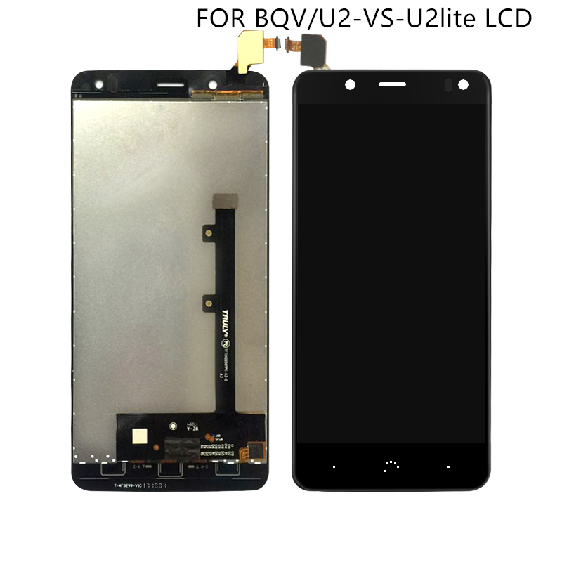 """Suitable for BQ Aquaris V display with touch screen digitizer for BQ U2 U2 Lite LCD screen Accessroeis 5.2"""" free shipping-in Mobile Phone LCD Screens from Cellphones & Telecommunications"""