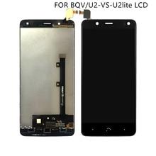 """適切な bq Aquaris BQ 用タッチスクリーンデジタイザと表示 U2 U2 Lite 液晶画面 Accessroeis 5.2"""" 送料無料"""