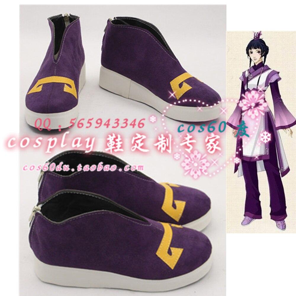 Gujianqitan TV jouer Antique épée légende drame Fu Qu Cosplay chaussures S008