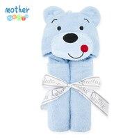 Sevimli hayvan şekil bebek kapşonlu bornoz banyo olmak towel bebek yenidoğan tutun toallas çocuk çocuk bebek banyo bebek bakımı