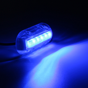 Image 1 - 12 V הימי יאכטה LED מתחת למים אור עמיד למים נוף מנורת סירת אביזרי לבן/כחול/ירוק