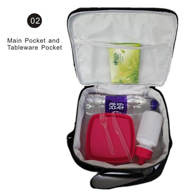 impressão lancheira tote cooler bolsa bento bolsa