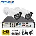 1MP CCTV 4CH Sistema de Vigilância de Vídeo de 2MP Full HD 1080 P HD kit ahd dvr 4*1080 p sony imx322 visão noturna sistema de câmera de segurança