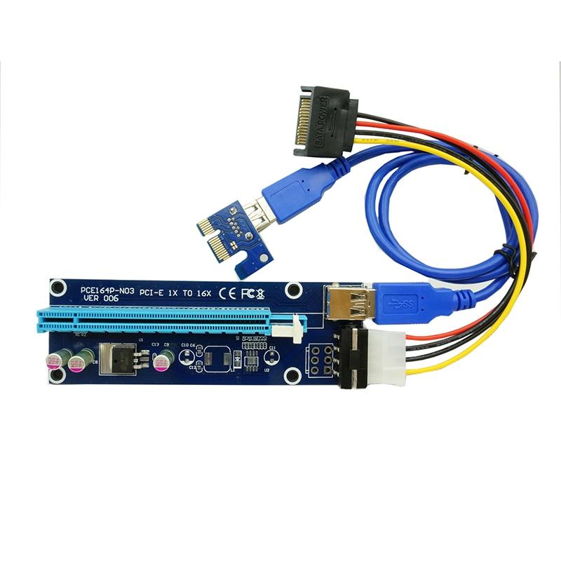 60 cm pcie pci-e pci Included 3 : Sata 15 Pin-4pin Power Cable