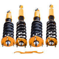 Spring Struts Coilovers Shock Absorber For 2001 2005 Lexus IS300 Adj Height Absorber Struts Suspension Coil