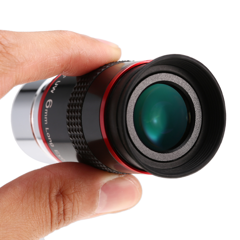 1.25INCH 68 Degree Wide Angle Eyepiece Planetary Eye Lens Astronomical Telescope Eyepiece 6MM / 9MM / 15MM / 20MM