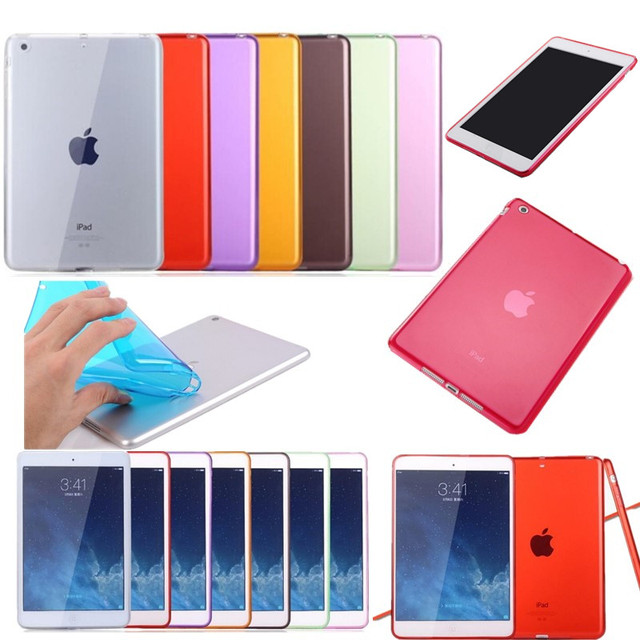 Case For iPad Mini 4 Mini4 Slim Anti-scratch Transparent Tablet Cover