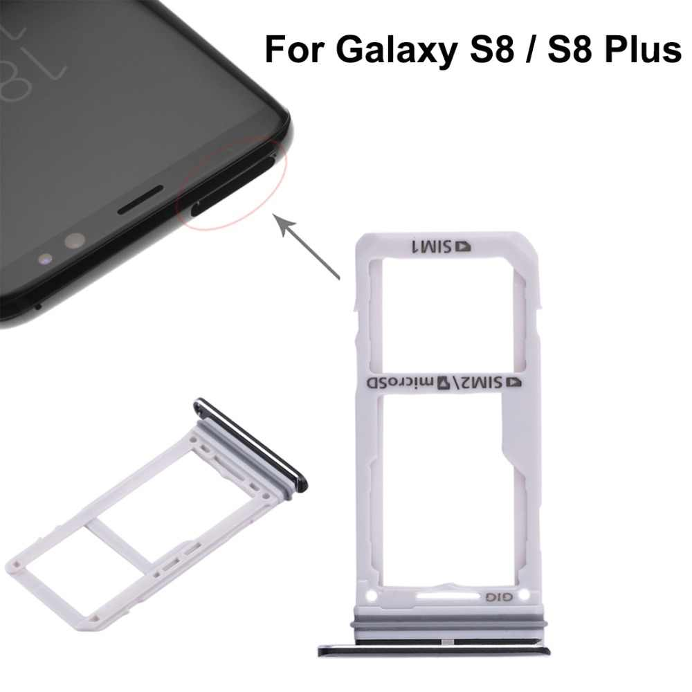 Samsung Galaxy S8 Sim Karte.Dual Sim Card Tray Micro Sd Card Tray For Samsung Galaxy
