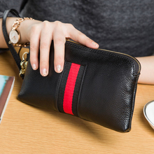 Wallet Women Brand Design Portefeuille femme Genuine Leather