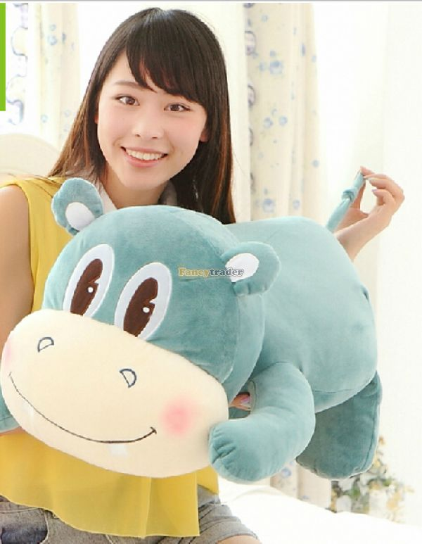 Fancytrader 39'' / 100cm Lovely Super Soft Plush Giant Hippo Toy, 2 Colors Available! Free Shipping FT50151 mimaki printer take up reel system motor for roland mimaki mutoh printer take up reel system