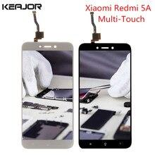 Лучшие Для Xiaomi Redmi 5A ЖК-дисплей Экран с рамкой Redmi 5A Глобальный Экран дисплея испытания Сенсорный экран Замена для Redmi 5A 5,0»