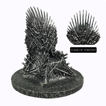 Pandadomik Iron Throne Model Resin Figure Statue Game of Thrones Toy Figurine Cool Collectible Movie Toys Gifts for Kids Man