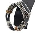Handgelenk Gurt für Xiao mi mi Band 3 Retro Leder Uhr Band Armband für Xiao mi mi Band 3 Zubehör für mi Band 3 Armband-in Cleveres Zubehör aus Verbraucherelektronik bei