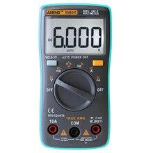 ANENG Профессиональной И Практической AN8001 Цифровой Мультиметр 6000 Графы Подсветки AC/DC Амперметр Вольтметр Ом Портативный Измеритель
