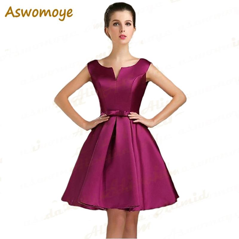 Short Evening Dresses 2017 New Fashion V Neck Back Corset Lace Up Prom Formal Dress Party ...
