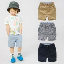 Fashion Toddler Shorts For Boys Cotton Baby Kids Boy Pants Summer Thin Children Clothes 2 4 5 6 8 Years