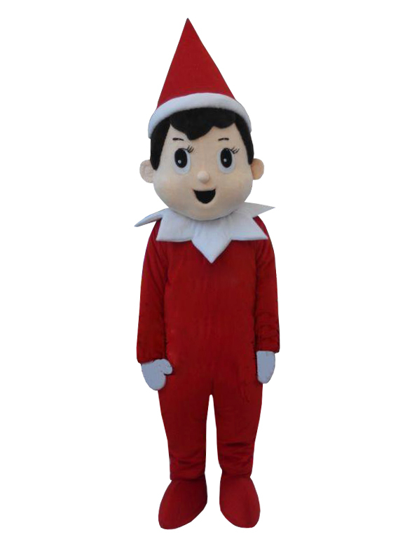 Christmas Creepy Elf Pinocchio On The Shelf Mascot Costumes Adult Cartoon Creepy Elf Pinocchio Cartoon