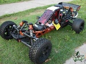 Image 3 - バハ5bアップグレードwindows用rovan km hpi 1/5 rcカー防塵窓(赤)