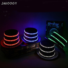 2019 New Free shipping High quality flash hat cap stage LED Jazz light magic flashing night dance costume props