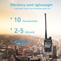 מכשיר הקשר dual band ניו Baofeng UV-5RE מכשיר הקשר Dual Band VHF UHF 136-174 / 400-520MHz FM במקלט נייד 5W שני הדרך כף יד רדיו סורק (4)