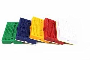 Image 2 - Frete grátis 30 PCS Mini placa de ensaio SYB 170 cor 35*47*8.5mm placa de teste placa universal pode ser costurado