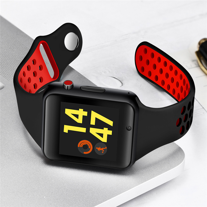 3df5a9c1d569 Comprar Reloj inteligente BANGWEI Bluetooth con pantalla táctil compatible  con tarjeta Sim TF reloj inteligente para teléfono Android hombres  Passometer ...